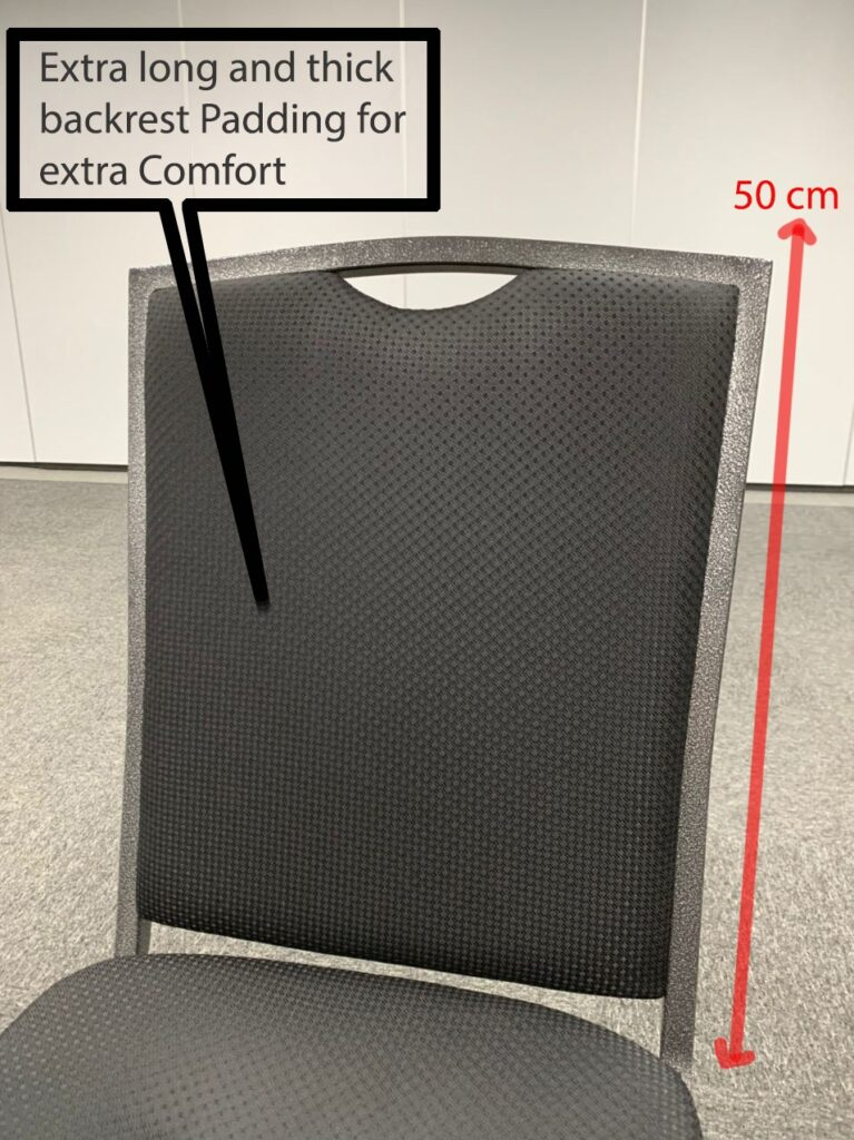 Chair long back rest