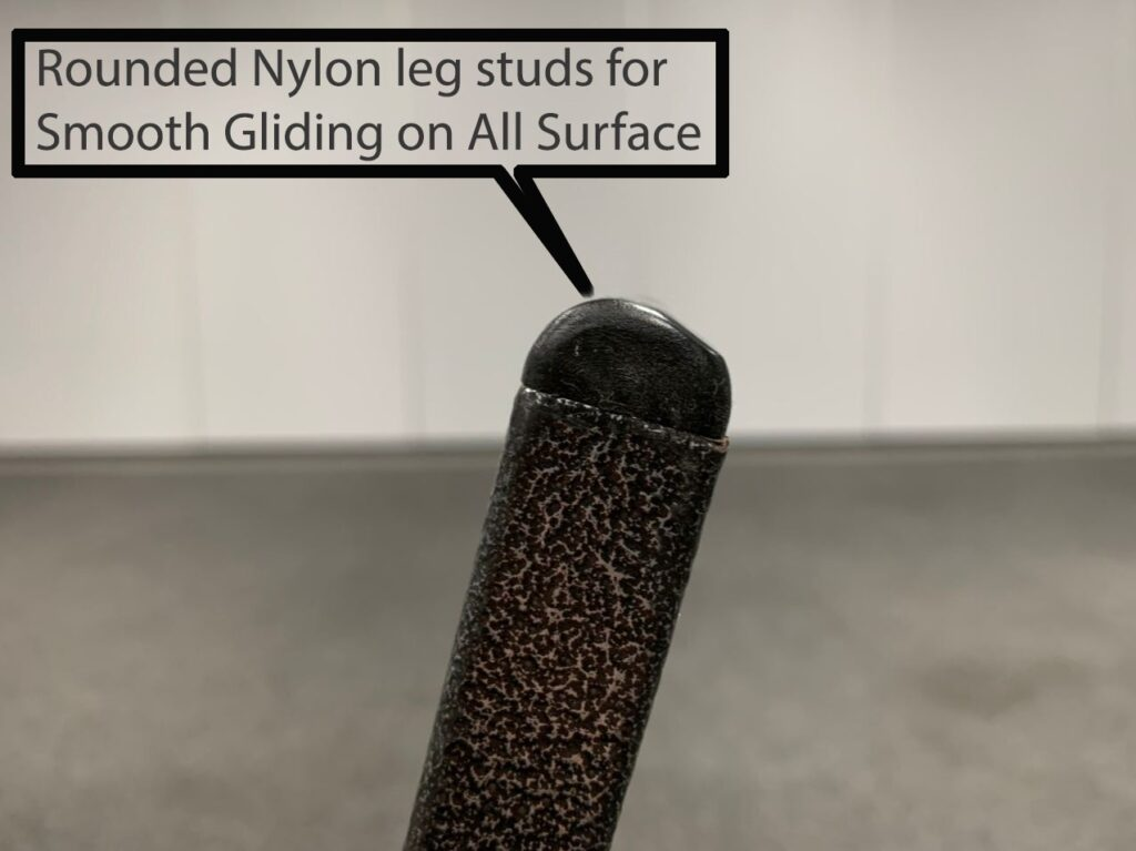 Chair rubber leg