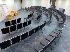 Conference set-up